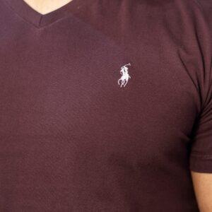 تی شرت یقه هفت اسلیم پولو استار
