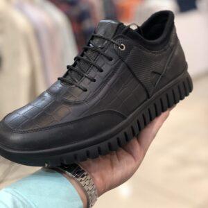 کفش مردانه چرم پوست سوسمار پولو استار