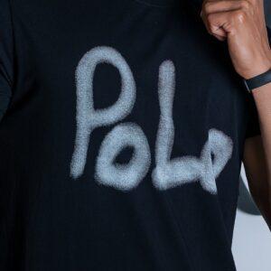 تی شرت یقه گرد پولو اسلیم پولو استار