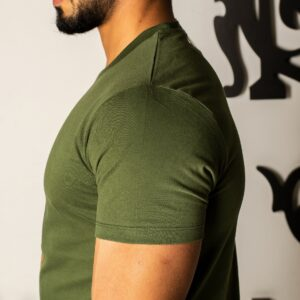 تی شرت یقه گرد چاپی اسلیم پولو استار